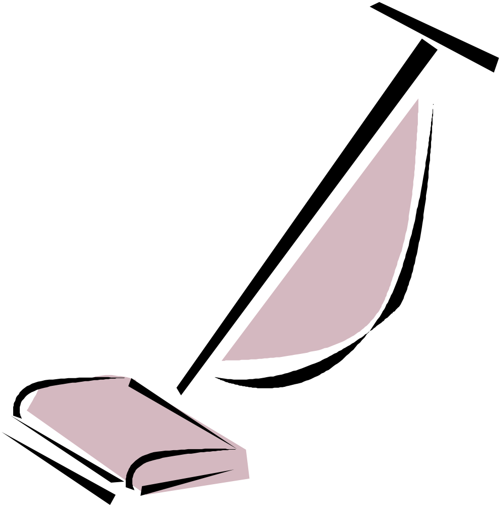 OnlineLabels Clip Art - Vacuum Cleaner Vacuum Clipart Black And White