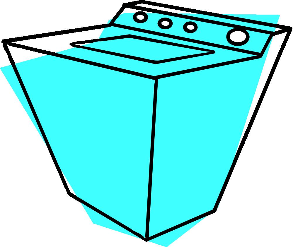 OnlineLabels Clip Art - Washing Machine