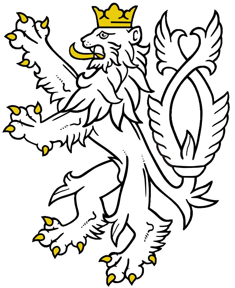 onlinelabels clip art white lion rh onlinelabels com heraldic clip art of bird heraldry clipart download free