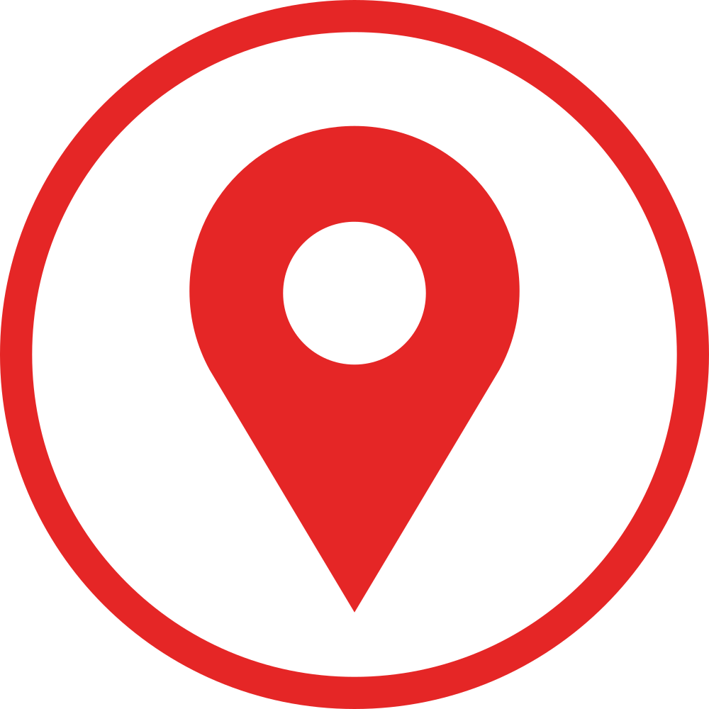 OnlineLabels Clip Art - Flat Location Logo