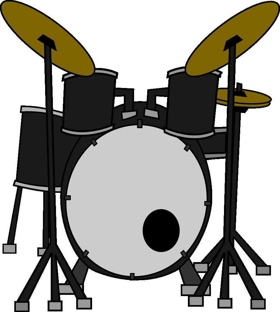 OnlineLabels Clip Art - Drums