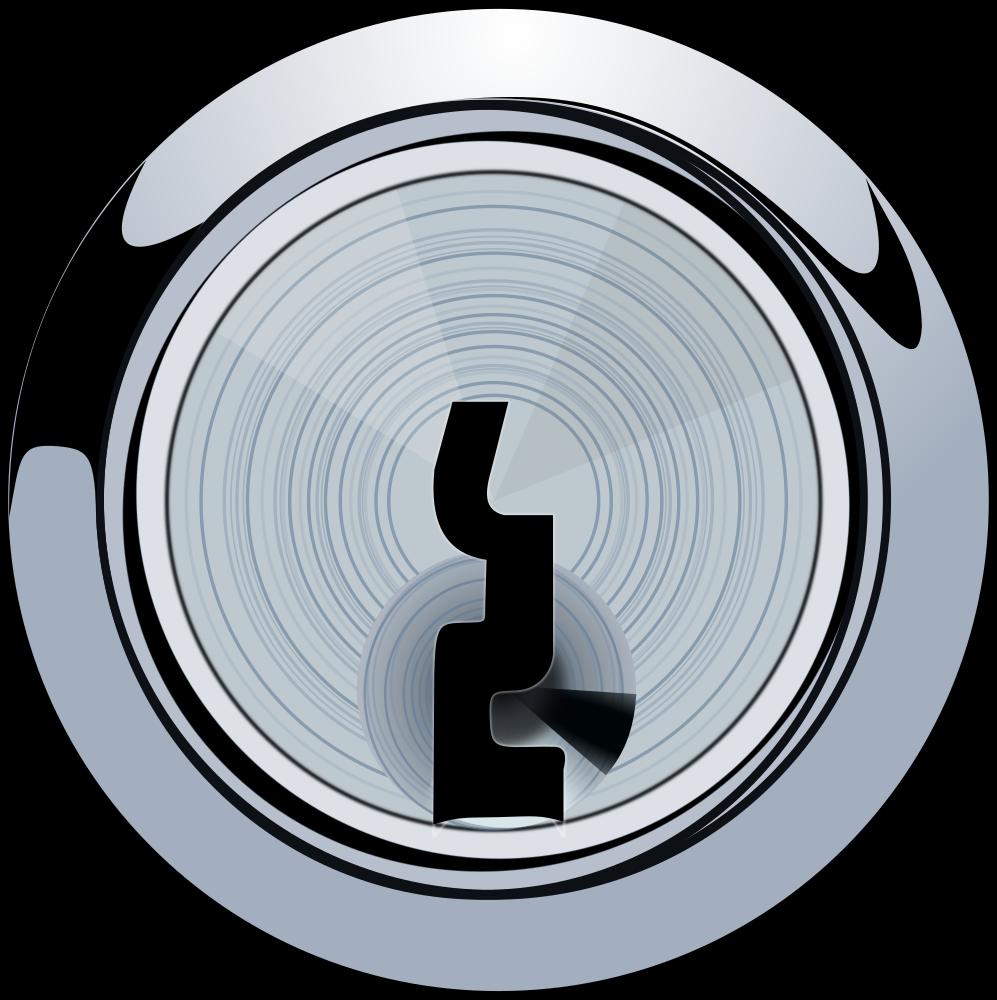 OnlineLabels Clip Art - Keyhole