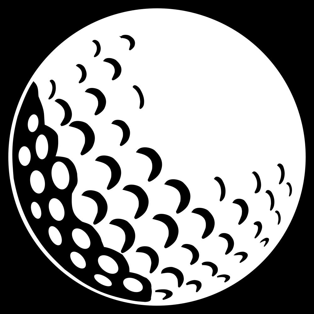 OnlineLabels Clip Art - Golf Ball