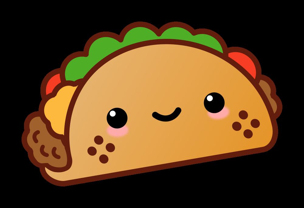 OnlineLabels Clip Art - Kawaii Taco
