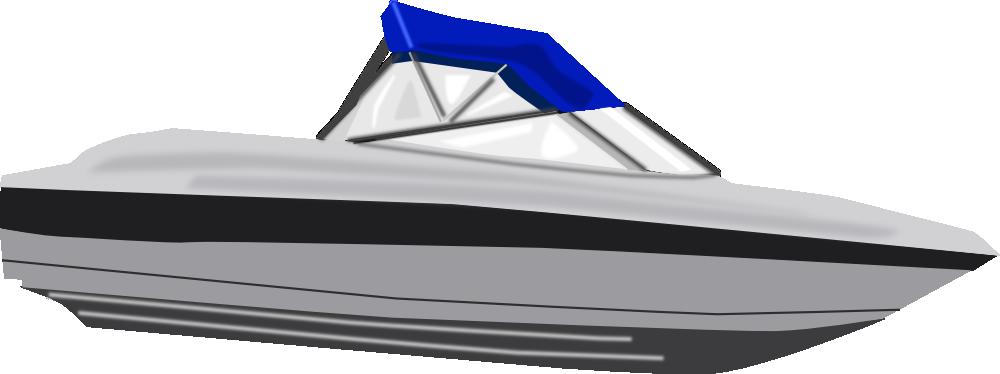 Onlinelabels Clip Art Speed Boat