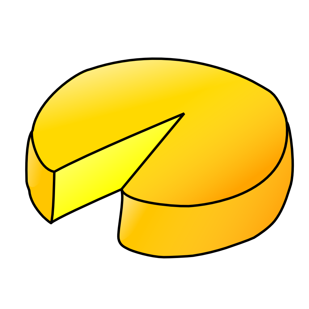 OnlineLabels Clip Art - Cheese
