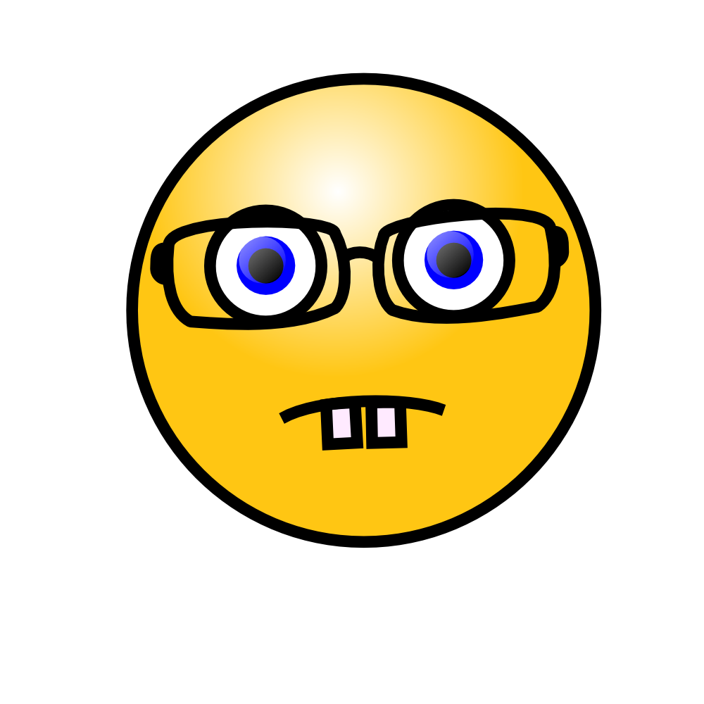 Emoticons 3A Nerd Face