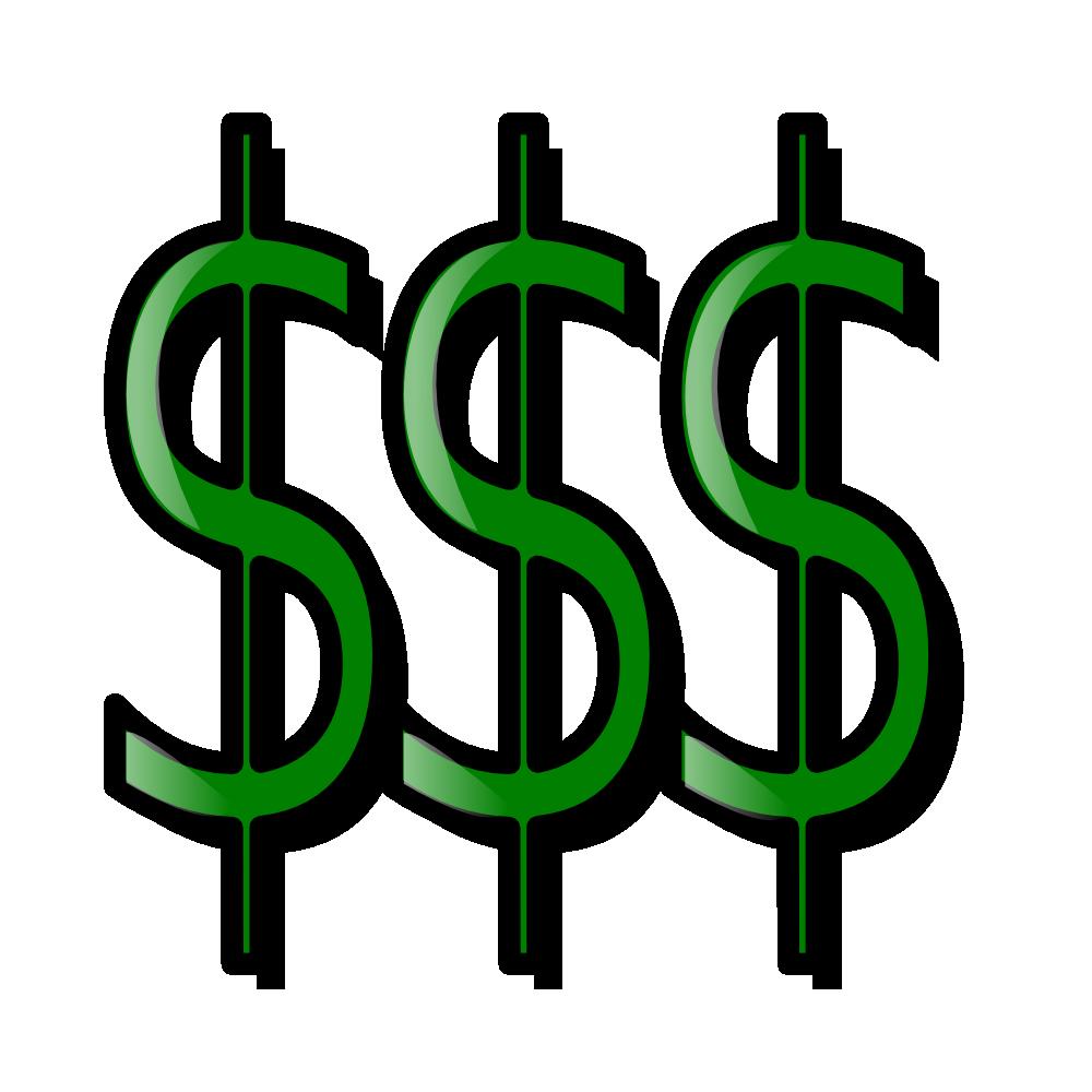 OnlineLabels Clip Art - Money