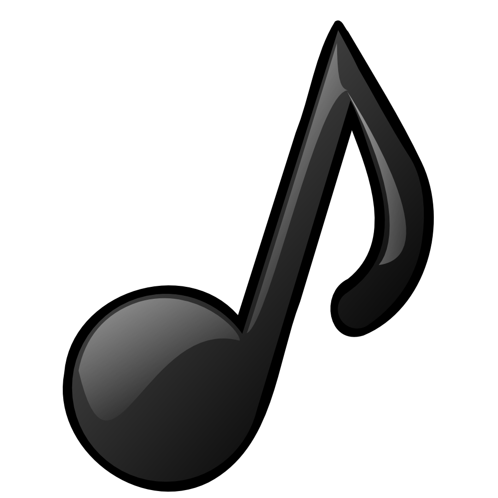 Music Symbols Clip Art Musical Note By Nicubunu
