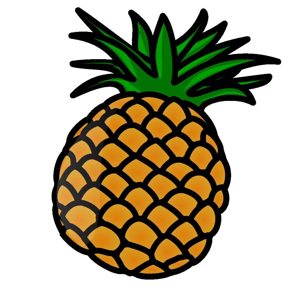 OnlineLabels Clip Art - Pineapple