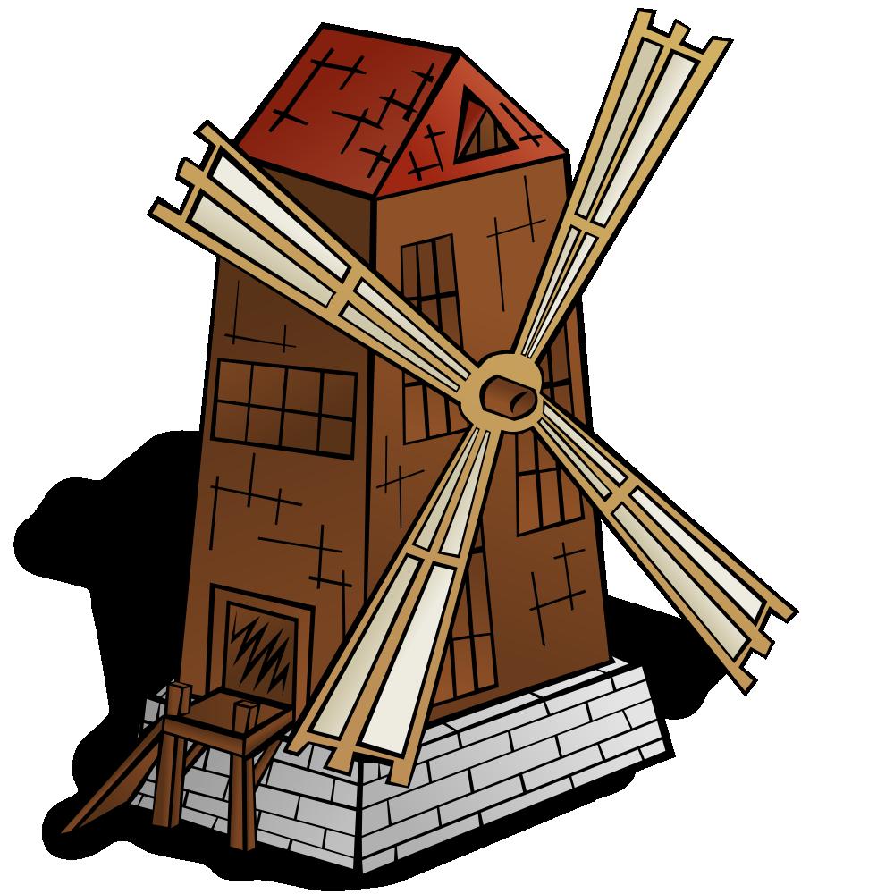 onlinelabels clip art rpg map symbols windmill rh onlinelabels com windmill clipart gif windmill clipart images