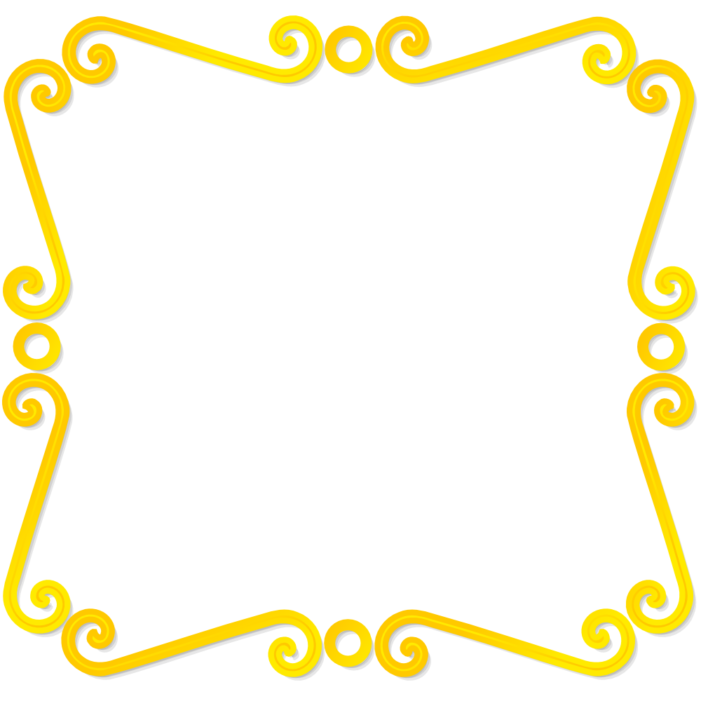yellow frame clipart - photo #26