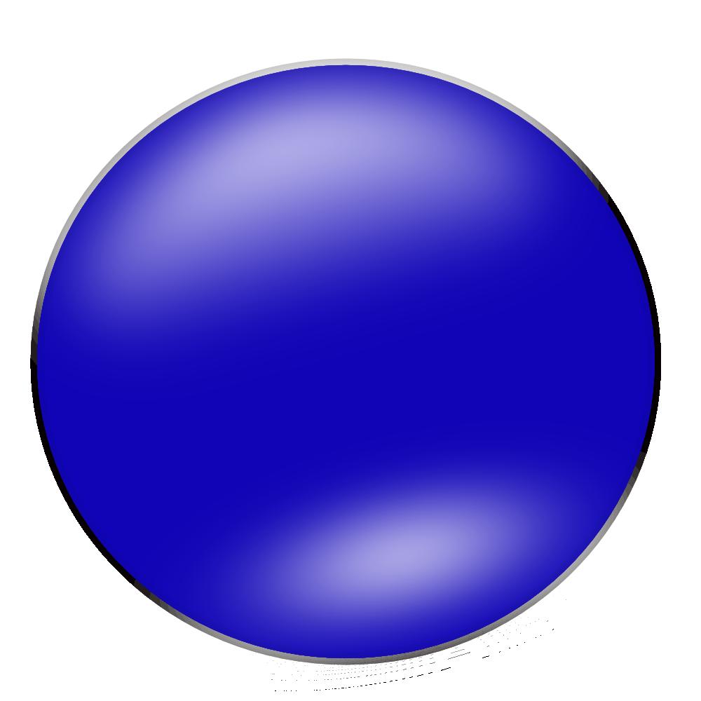 Onlinelabels Clip Art Blue Circle