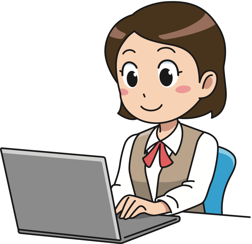 Image result for working at a computer clipart