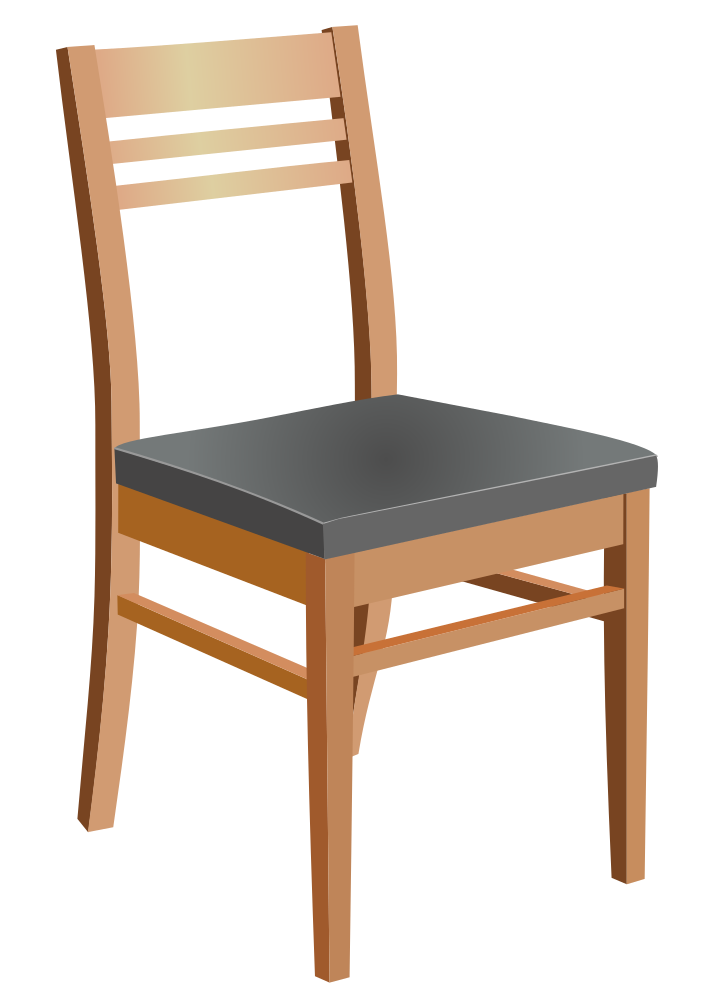 OnlineLabels Clip Art - Wooden Chair