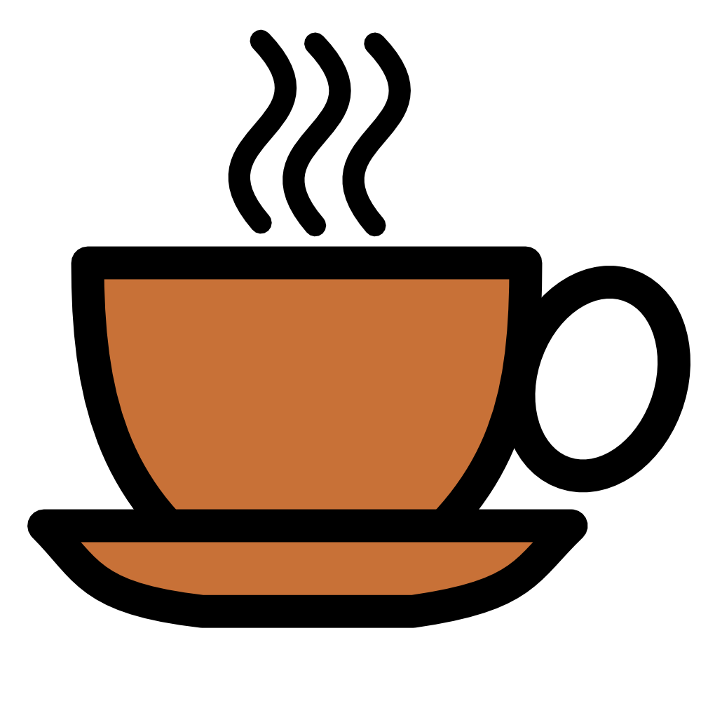 OnlineLabels Clip Art - Coffee Cup Icon