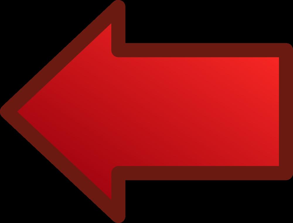 OnlineLabels Clip Art - Red Arrows Set