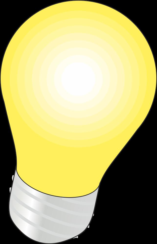 OnlineLabels Clip Art - Lightbulb