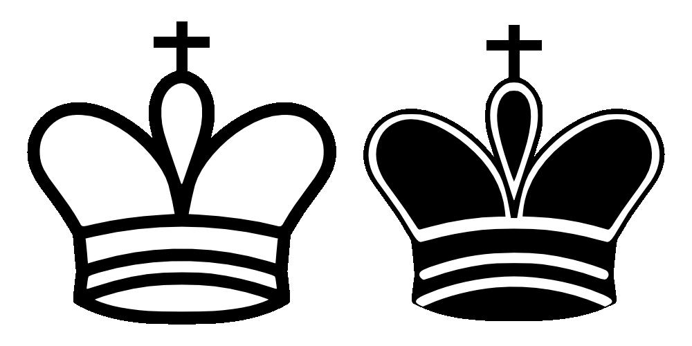 Onlinelabels Clip Art Chess Tile King
