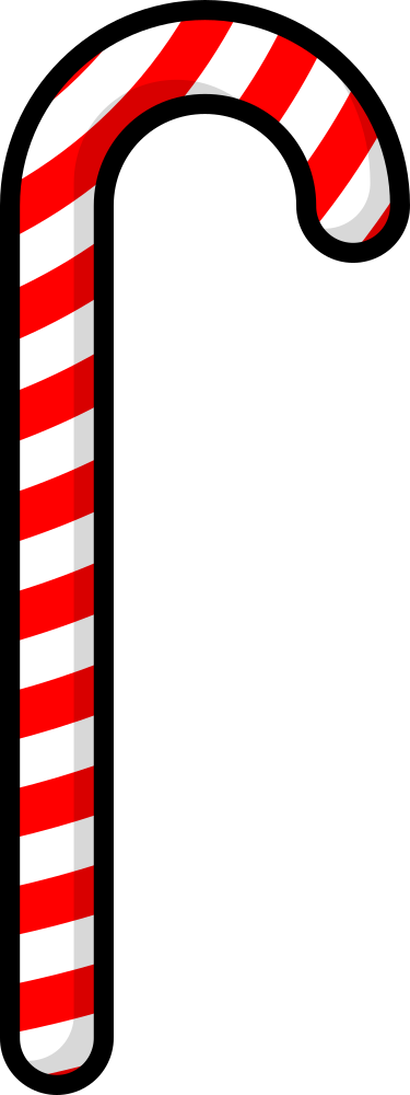 Onlinelabels Clip Art Candy Cane