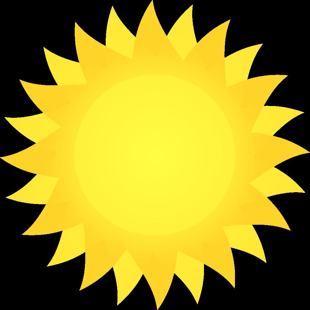 OnlineLabels Clip Art - Sun