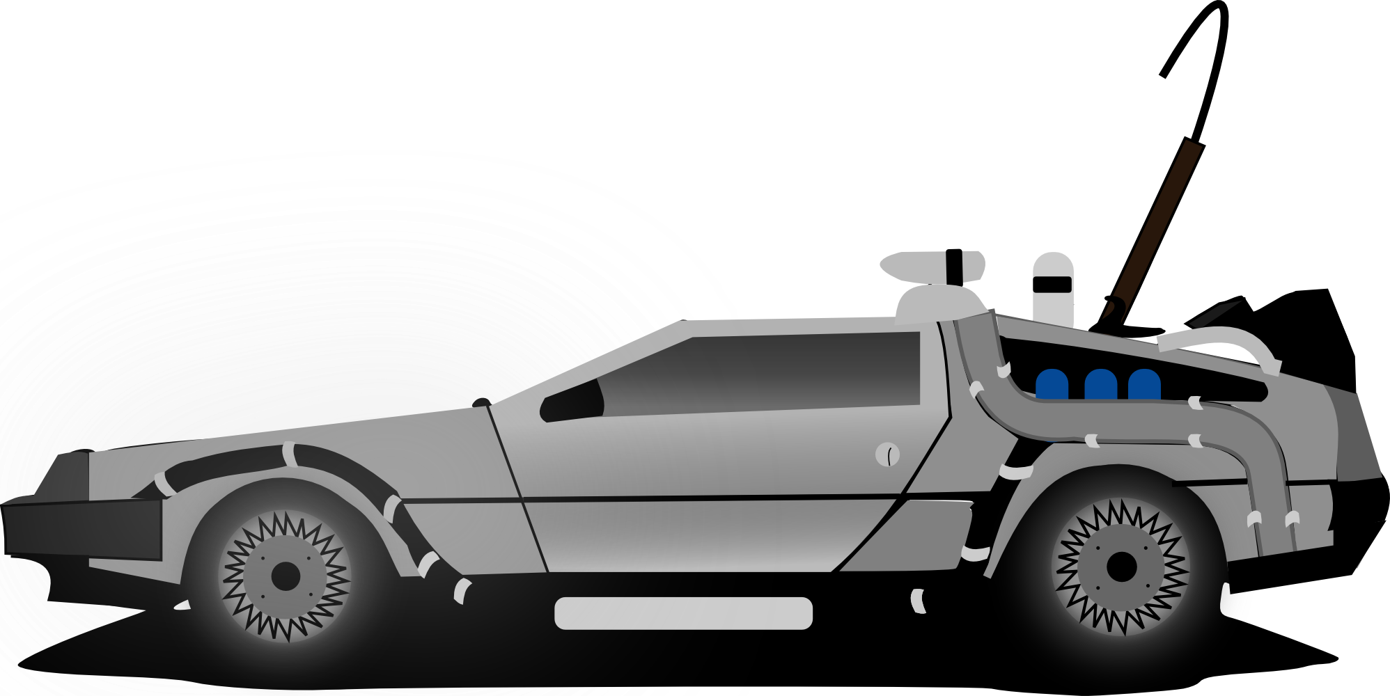 Delorean Flying Car Car Delorean