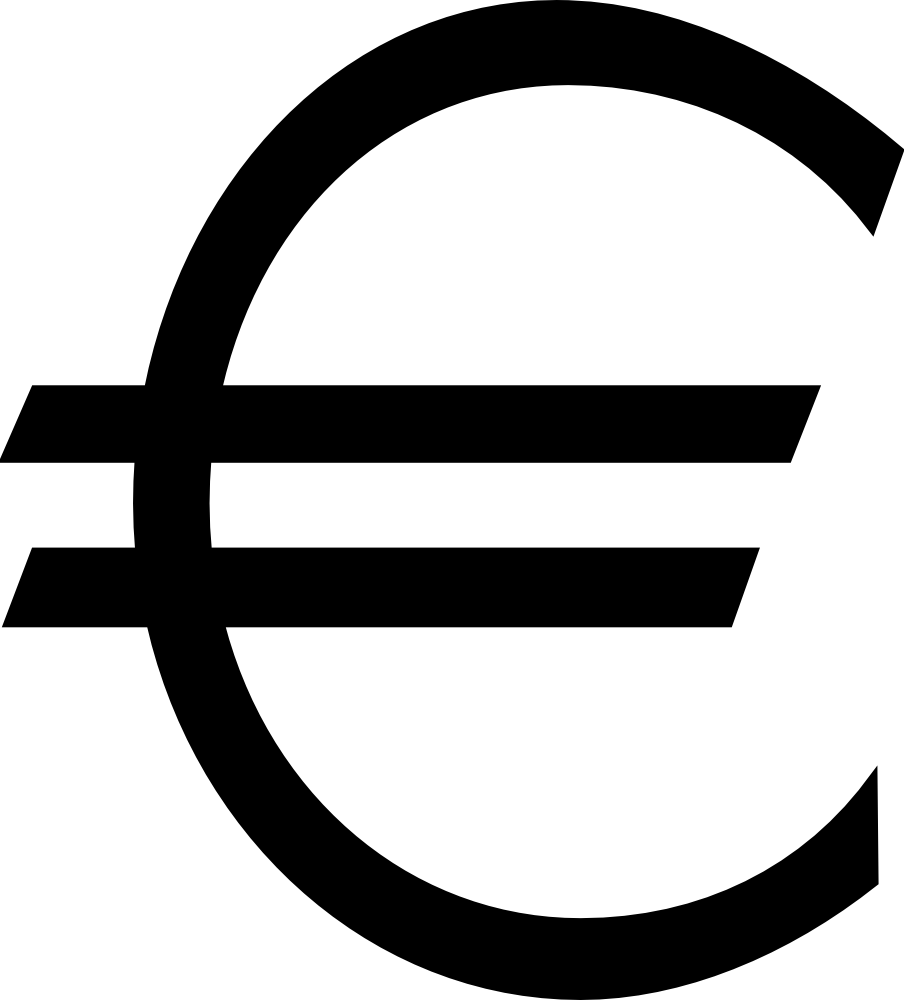 Euro Sign Svg Png Icon Free Download (#453674 ...
