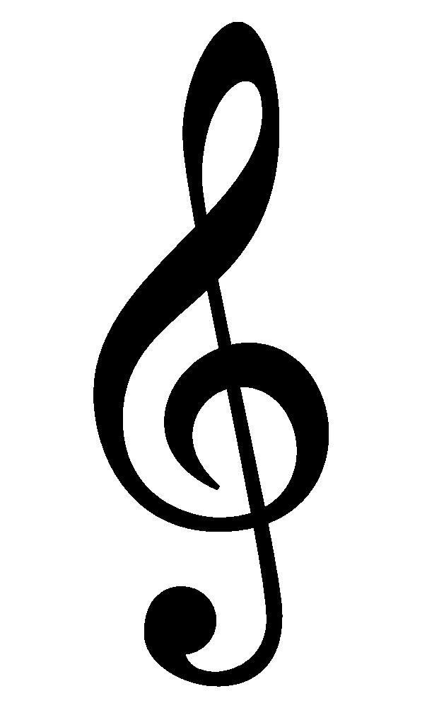 onlinelabels clip art treble clef black rh onlinelabels com treble clef clipart picture treble clef clipart