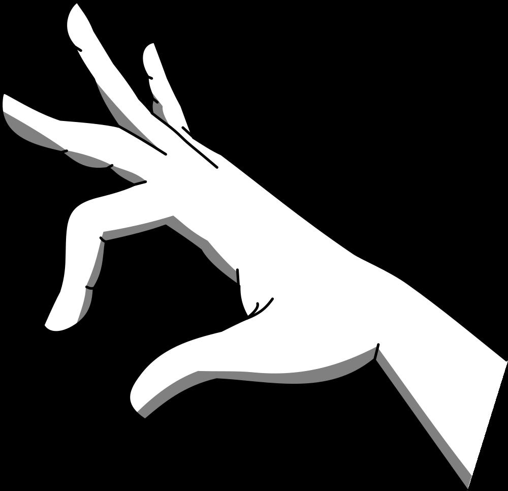 OnlineLabels Clip Art - Holding Hand