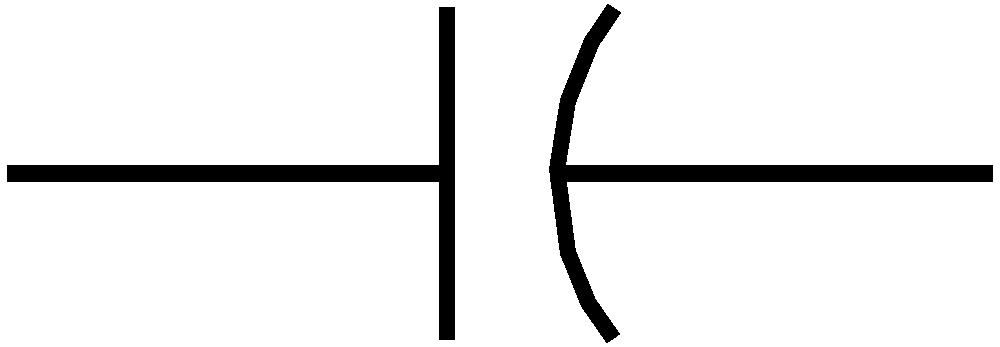 Onlinelabels Clip Art Rsa Iec Capacitor Symbol 2