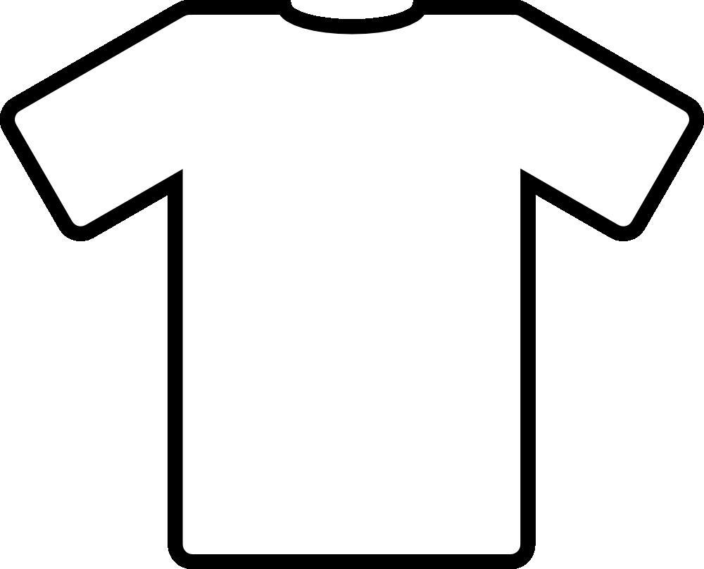 clipart white t shirt - photo #4