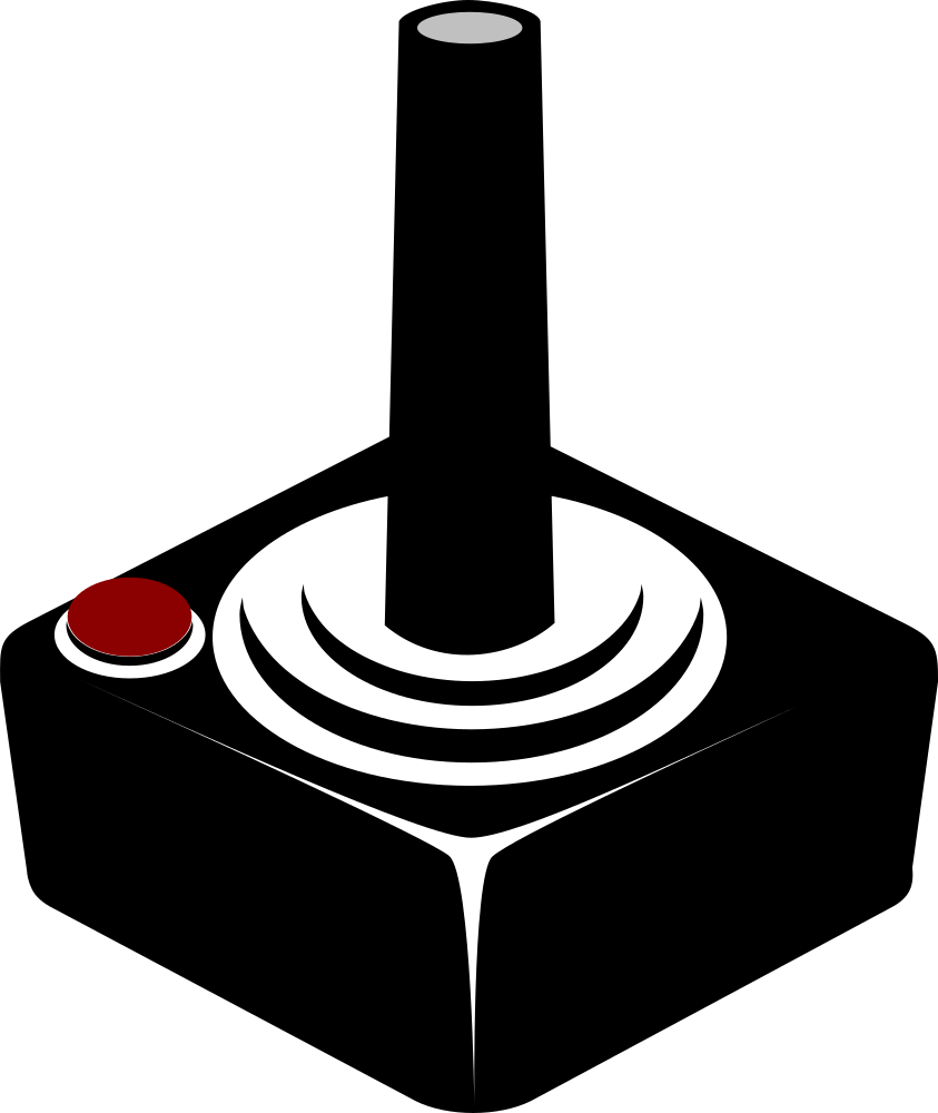 OnlineLabels Clip Art - Joystick