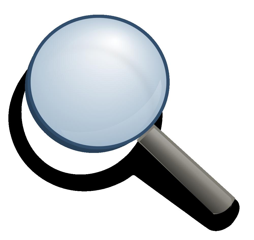 Onlinelabels Clip Art Magnifying Glass