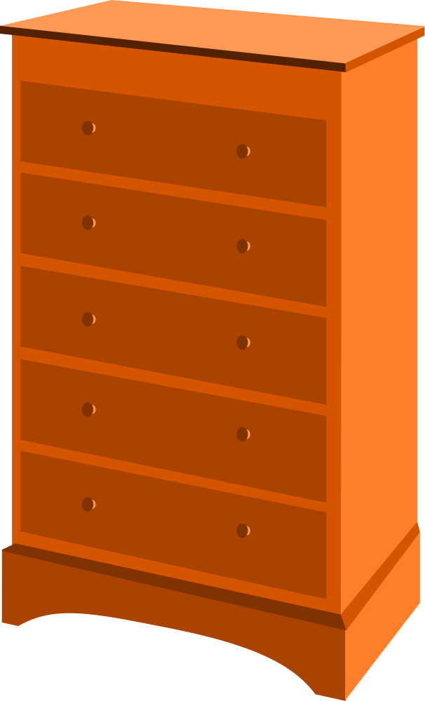 Onlinelabels Clip Art Chest Of Drawers