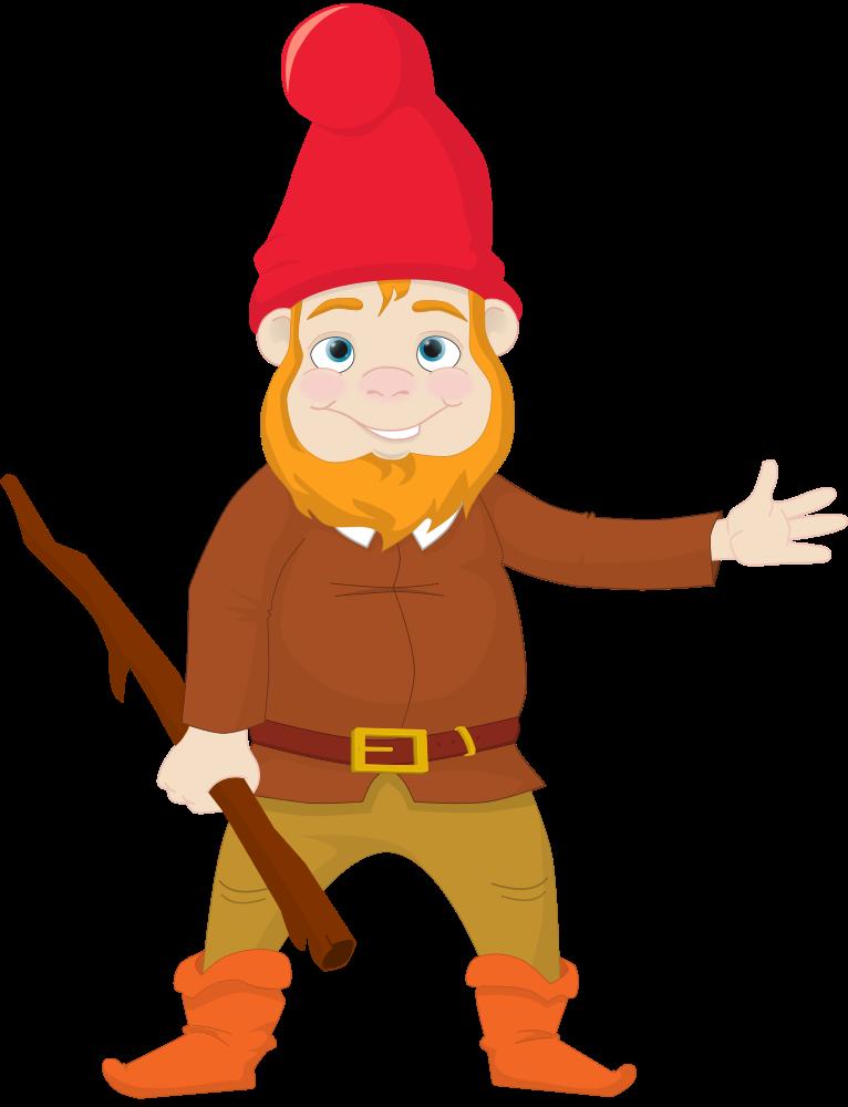 Gnome Clip Art: OnlineLabels Clip Art