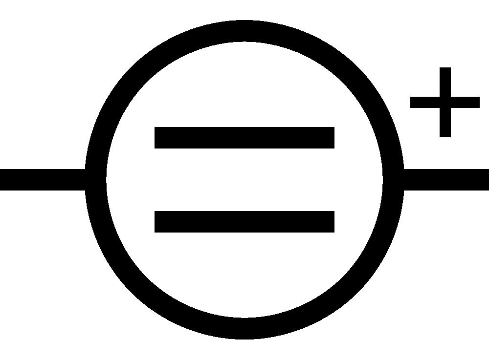 OnlineLabels Clip Art - IEC DC Supply