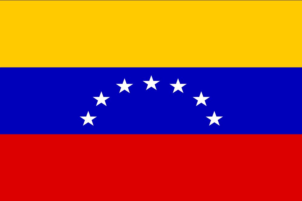 OnlineLabels Clip Art - Venezuela Flag