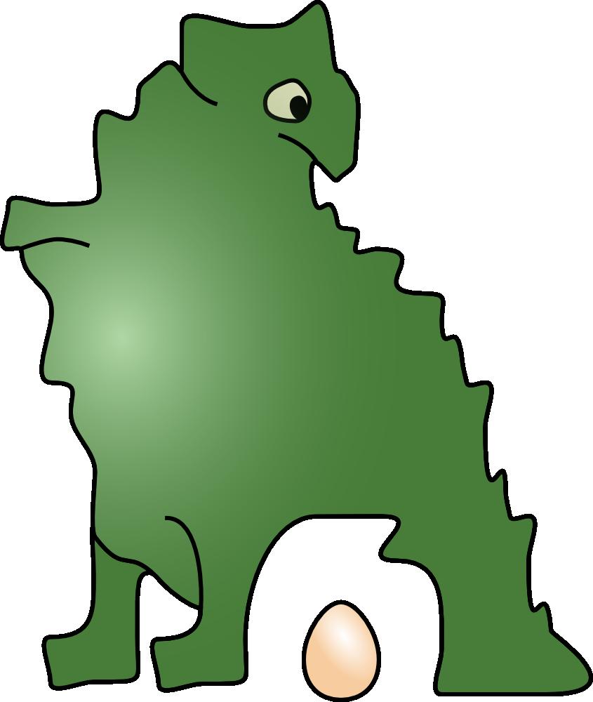 Dinosaur Egg Clip Art Dinosaur Laid An Egg clipart