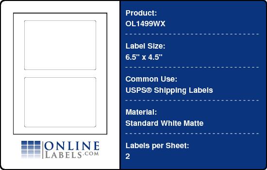 usps shipping label template free skillloadzone. Black Bedroom Furniture Sets. Home Design Ideas
