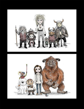 Labyrinth Illustrations