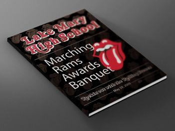 Book Design - Lake Mary Band Banquet