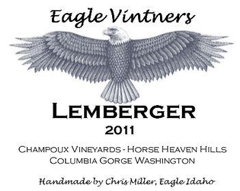 Eagle Vintner Wine Label