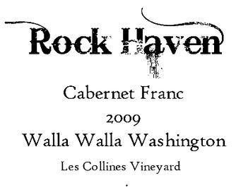 Rock Haven Wines Label
