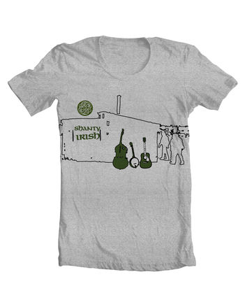 Irish pub band shirt