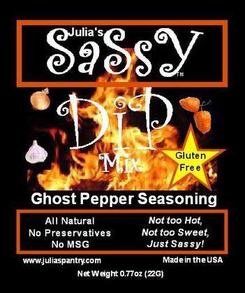 Julia's Ghost Pepper Dip and Seasoning