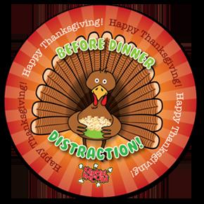 Thanksgiving Label