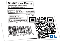 Nutrition Label / Barcode Label / QR Code Generator Tools