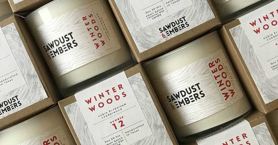 Sawdust & Embers - Winter Woods Candle Collection