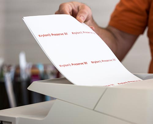 Printing your labels