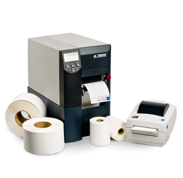 Thermal Transfer & Direct Thermal Roll Labels for Desktop or Commercial Printing
